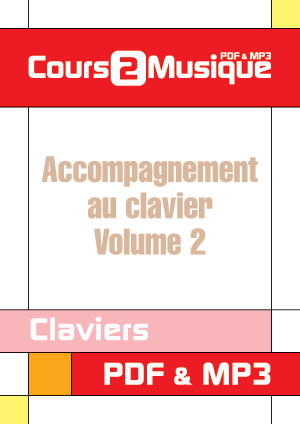 Accompagnement au clavier - Volume 2