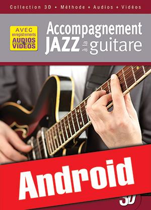 Accompagnement jazz à la guitare en 3D (Android)