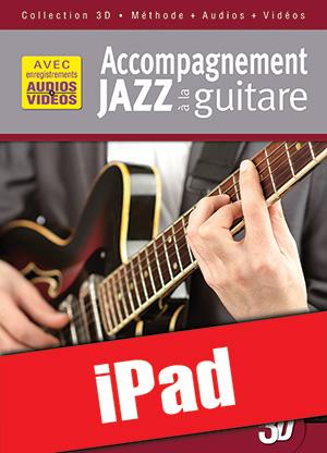 Accompagnement jazz à la guitare en 3D (iPad)