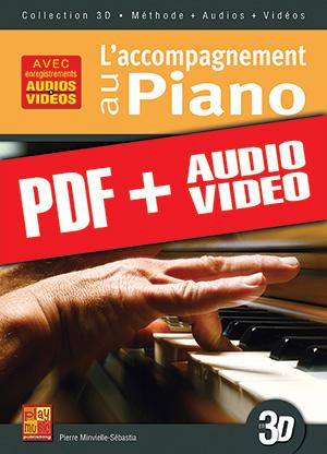 L'accompagnement au piano en 3D (pdf + mp3 + vidéos)