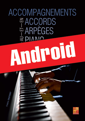 Accompagnements en accords et arpèges au piano (Android)