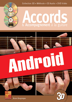 Accords & accompagnement à la guitare en 3D (Android)