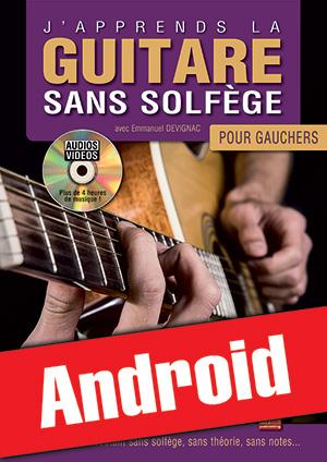 J'apprends la guitare sans solfège pour gauchers (Android)