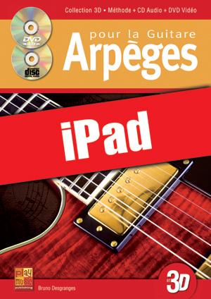 Arpèges pour la guitare en 3D (iPad)