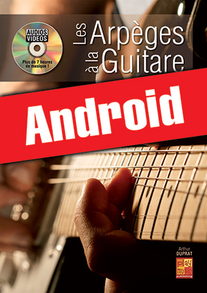 Les arpèges à la guitare (Android)