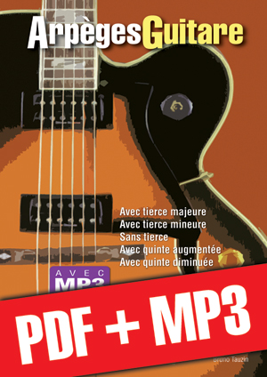 Arpèges Guitare (pdf + mp3)