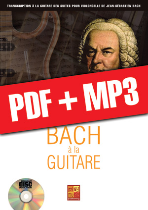 Bach à la guitare (pdf + mp3)