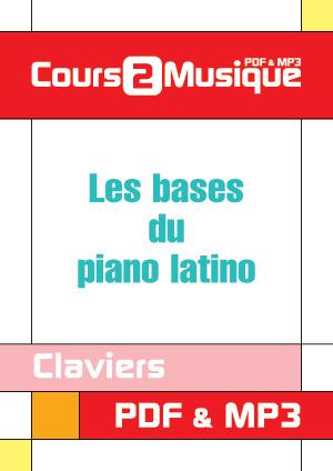 Les bases du piano latino