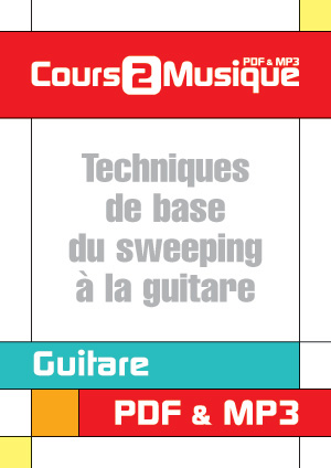 Techniques de base du sweeping à la guitare