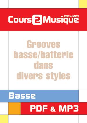 Grooves basse/batterie dans divers styles