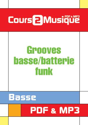Grooves basse/batterie - Funk