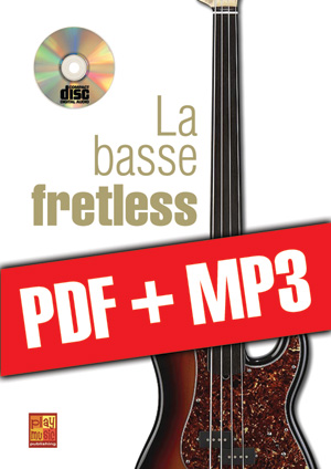 La basse fretless (pdf + mp3)
