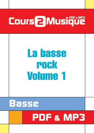 La basse rock - Volume 1