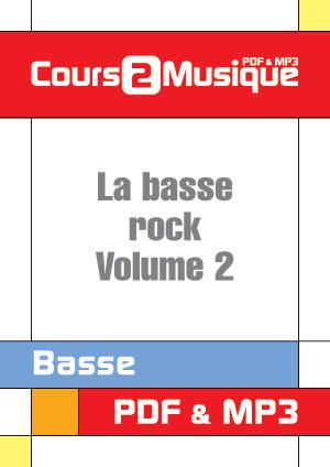 La basse rock - Volume 2