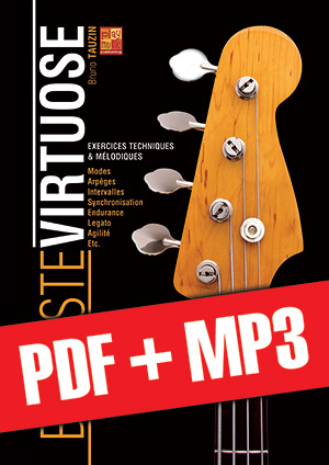 Bassiste virtuose (pdf + mp3)