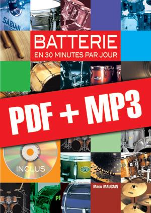 La batterie en 30 minutes par jour (pdf + mp3)
