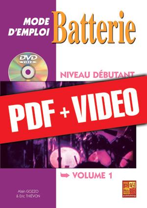 Batterie Mode d'Emploi - Niveau débutant (pdf + vidéos)