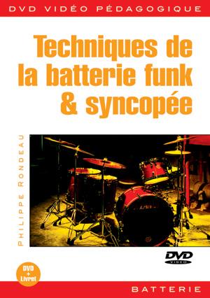 Techniques de la batterie funk & syncopée