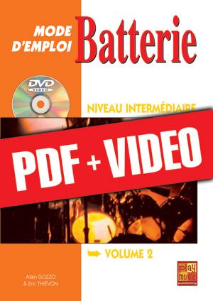 Batterie Mode d'Emploi - Niveau intermédiaire (pdf + vidéos)