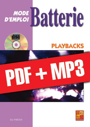 Batterie Mode d'Emploi - Playbacks (pdf + mp3)