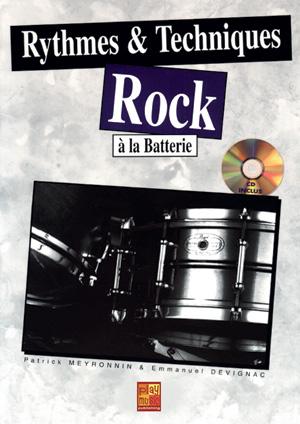 Rythmes & techniques rock à la batterie
