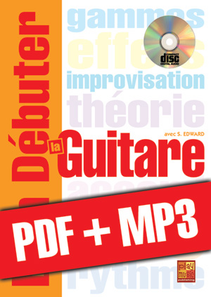 Bien débuter la guitare (pdf + mp3)