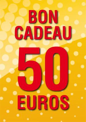 BON CADEAU DE 50 €