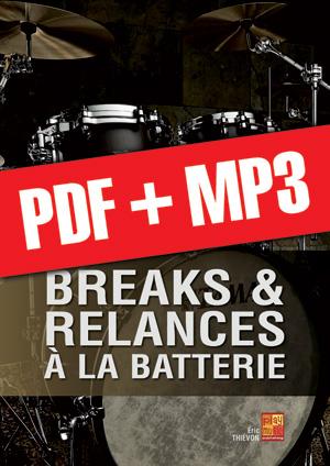 Breaks & relances à la batterie (pdf + mp3)