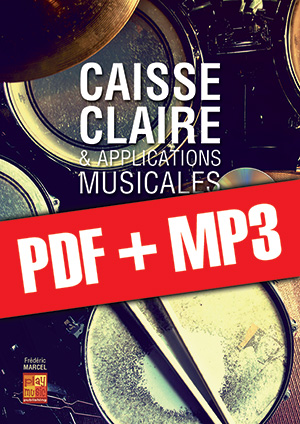 Caisse claire & applications musicales (pdf + mp3)