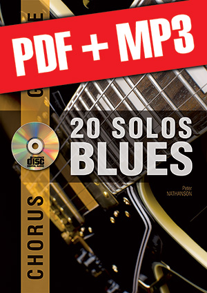 Chorus Guitare - 20 solos de blues (pdf + mp3)