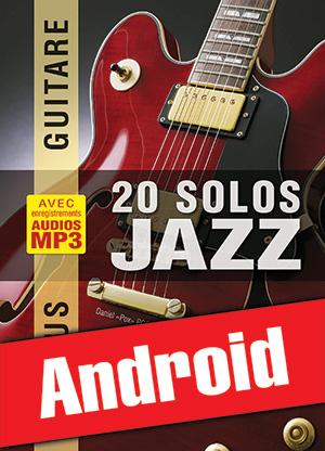 Chorus Guitare - 20 solos de jazz (Android)