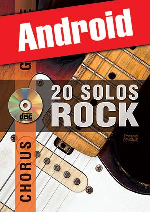 Chorus Guitare - 20 solos de rock (Android)