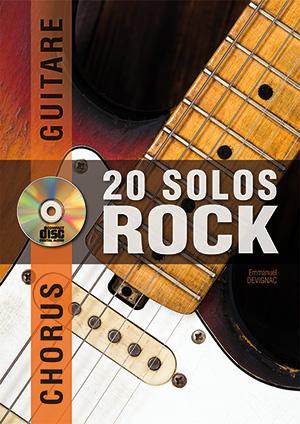 Chorus Guitare - 20 solos de rock