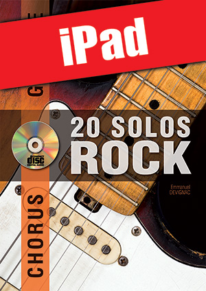 Chorus Guitare - 20 solos de rock (iPad)