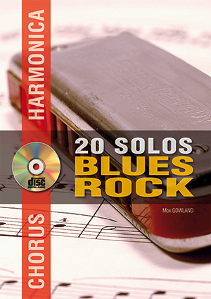 Chorus Harmonica - 20 solos blues/rock