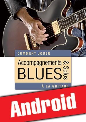 Accompagnements & solos blues à la guitare (Android)