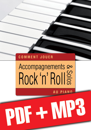 Accompagnements & solos rock 'n' roll au piano (pdf + mp3)