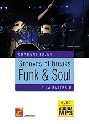 Grooves et breaks funk & soul à la batterie