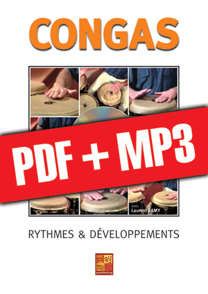 Congas - Rythmes & développements (pdf + mp3)