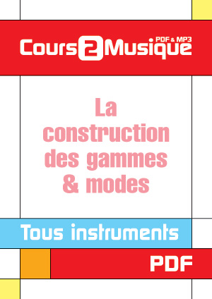 La construction des gammes modes guitare cours t l charger th orie harmonie denis for Cours de construction pdf
