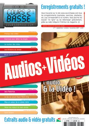 Enregistrements du Cours 2 Basse n°7