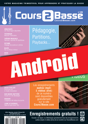 Cours 2 Basse n°28 (Android)