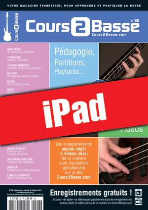 Cours 2 Basse n°28 (iPad)