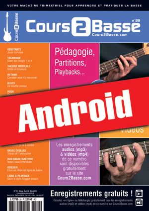 Cours 2 Basse n°29 (Android)