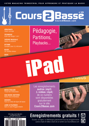 Cours 2 Basse n°29 (iPad)