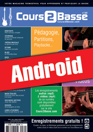 Cours 2 Basse n°30 (Android)