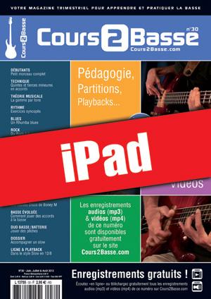 Cours 2 Basse n°30 (iPad)