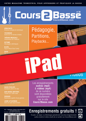 Cours 2 Basse n°31 (iPad)