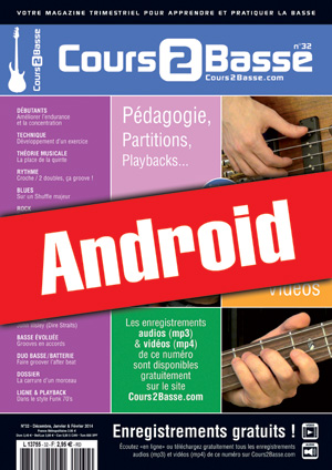 Cours 2 Basse n°32 (Android)