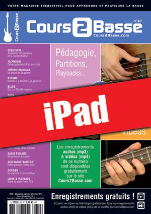 Cours 2 Basse n°32 (iPad)